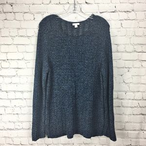 🌸 [J Jill] Sweater Navy Ladies Large Long Sleeve